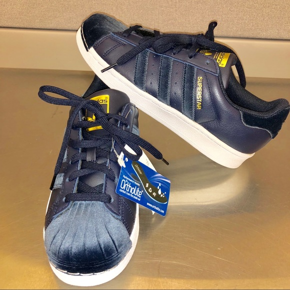 adidas Shoes - 🆕Adidas Superstar Lace-Up Sneaker Navy blue